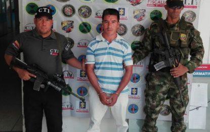 Presunto secuestrador y abusador sexual fue capturado en el Cesar