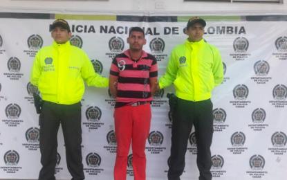 Capturan sujeto por caso de feminicidio de venezolana en el sur del Cesar