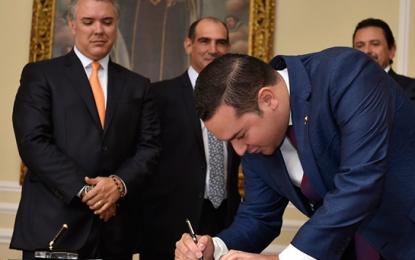 Juan Manuel Daza asumió como Viceministro de Relaciones Políticas de Mininterior