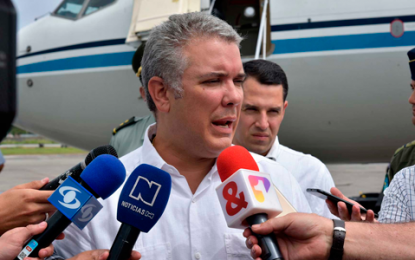 Presidente Duque se comprometió a combatir el crimen organizado en San Andrés