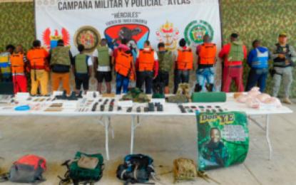 Caen en Tumaco el cabecilla alias Cuba y 10 integrantes de banda disidente de las Farc