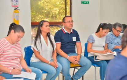 Empleados de Emdupar y Radian Colombia en entrenamiento de fortalecimiento institucional