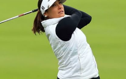 María José Uribe, 50 en el Abierto Británico de golf
