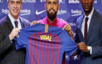 Estoy feliz de estar en el mejor equipo del mundo: Arturo Vidal