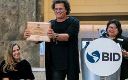 """Carlos Vives presentó ante el BID y la Universidad de Georgetown su iniciativa """"Tras la Perla"""""""