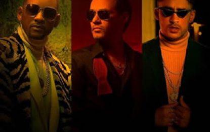 """Marc Anthony, Will Smith y Bad Bunny se unen en """"Está Rico"""""""
