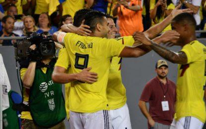 Colombia derrotó a EE.UU con cuatro golazos: 1 James, 2 Baca, 3 Falcao y 4 Borja