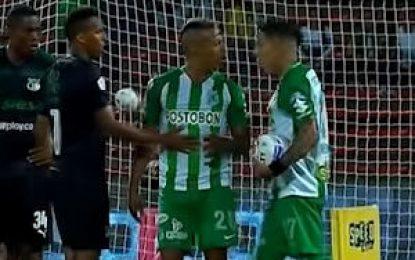 Atlético Nacional inicia investigación disciplinaria por enfrentamiento entre Dayro y Lucumí