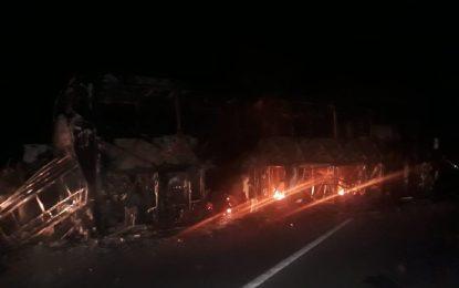 Varios heridos y carros quemados deja ataque del ELN en Cesar