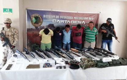 Ejército y Fiscalía desarticulan banda delincuencial en La Guajira