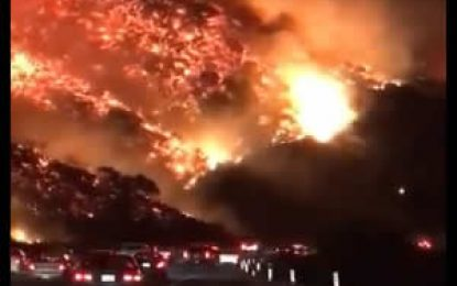 Continúa búsqueda de 1.276 desaparecidos tras incendio forestal en California