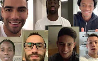 Jugadores de la Selección Colombia envían vídeos de apoyo a la Sub17 Femenina