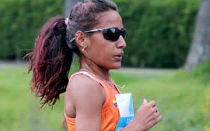 Kellys Arias se coronó campeona de la Media Maratón del Cauca