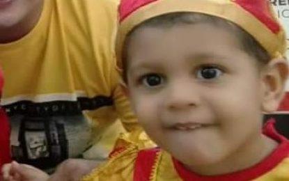 Murió bebé que resultó quemado tras incendio en su habitación en Valledupar