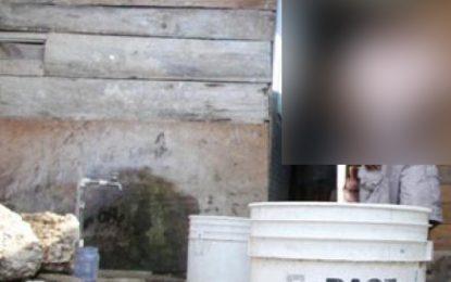 Bebé muere ahogada en un balde con agua en Valledupar