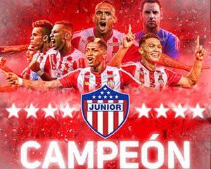 Junior logró su octavo título, al coronarse campeón de la Liga Águila 2018