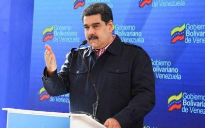 Maduro insiste en que desde EEUU se está preparando un golpe de Estado contra Venezuela