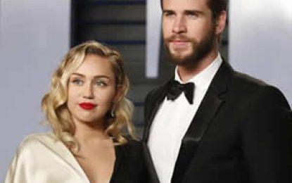 Miley Cyrus confirma matrimonio con el actor Liam Hemsworth