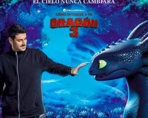 """Melendi presentó """"El cielo nunca cambiará"""" banda sonora de """"Cómo entrenar a tu dragón 3"""""""