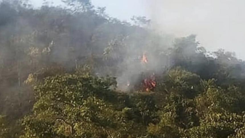 El incendio en la Serranía duró 11 días.