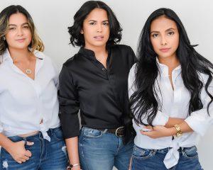 Tres amigas, amantes del maquillaje y del color se volvieron empresarias