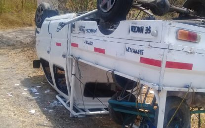 Cinco venezolanos heridos en accidente de tránsito entre Pueblo Nuevo-Valledupar