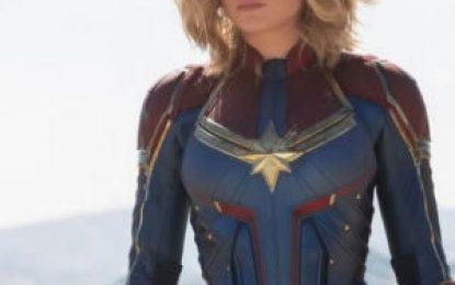 """Filtraron fotos de la """"Capitana Marvel"""" desnuda"""
