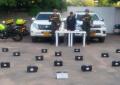 Hallan 21 kilos de cocaína camuflados en puerta de un campero en Aguachica