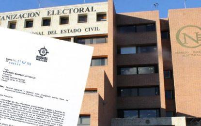 Procurador pide regular propaganda política exterior visual en proceso de recolección de firmas