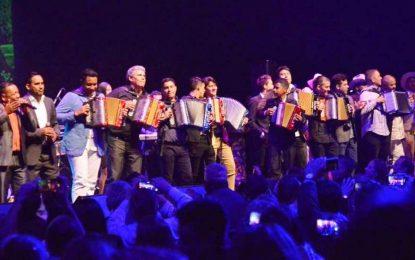 La música vallenata volvió a pasearse por la región andina colombiana