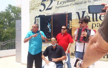 Javier Mata, acorderonero de Jorge Oñate se inscribe en el Festival Vallenato