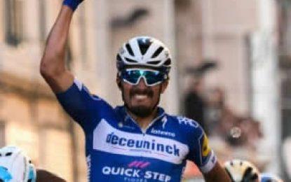 Alaphilippe ganó la segunda etapa de la Vuelta al País Vasco