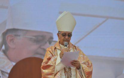 Obispo de Valledupar llama la atención a candidatos durante homilía de Santo Ecce-Homo