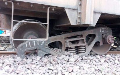 Afectación en el tráfico de línea férrea, tras descarrilamiento del tren del carbón en Bosconia