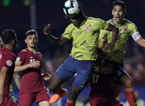 Colombia gana 1 – 0 a Qtar y clasifica a cuartos de final de la Copa América