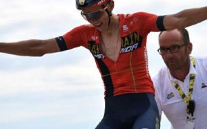 Tour de Francia: Teuns gana la sexta etapa y Ciccone es el nuevo líder