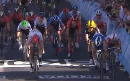 Tour de Francia: Viviani gana la 4ª etapa y Alaphilippe sigue líder