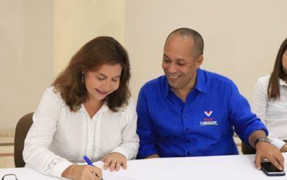 Valledupar Humana firmó acuerdo social con Ernesto Orozco