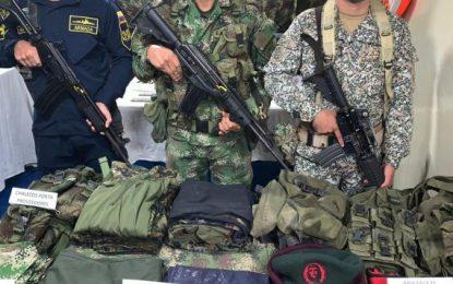 Incautan explosivos y arsenal del Eln en el Chocó