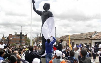 Duque rinde homenaje a Luis Carlos Galán con ocasión de los 30 años de su magnicidio