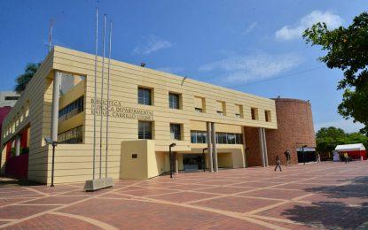 Biblioteca Carrillo Lúquez finalista del Premio Nacional 'Daniel Samper Ortega' de Mincultura