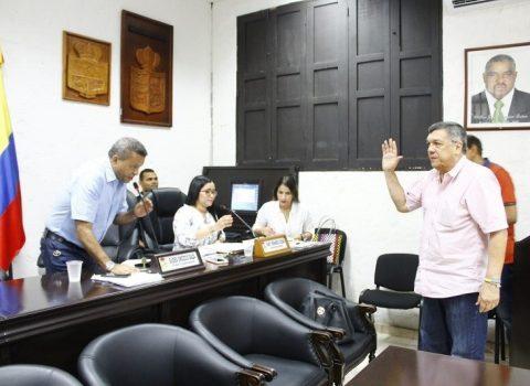 Eligen nuevo presidente del Concejo de Valledupar