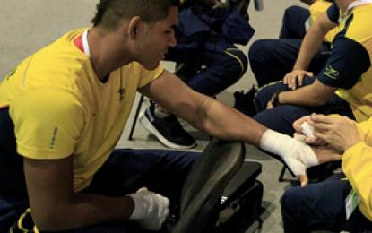 El colombiano José Manuel Viáfara avanzó a segunda ronda del Mundial de Boxeo