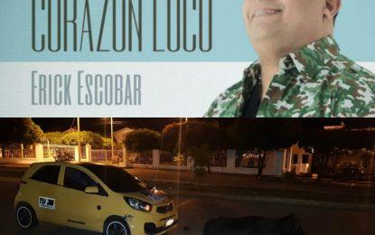 El cantante Erick Escobar resultó ileso en un accidente de tránsito en Valledupar
