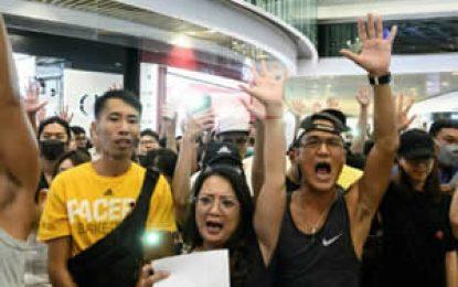 Nueva jornada de parálisis en Hong Kong por manifestaciones masivas