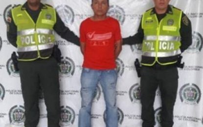 107 capturados por violencia intrafamiliar en Cesar este año