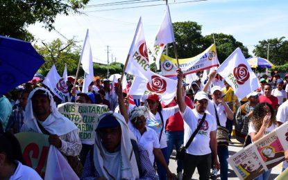 Excombatientes exigieron cumplimiento del acuerdo de paz con las Farc