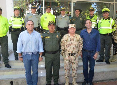 2.900 policías garantizan la seguridad en fiestas de fin de año en Cesar