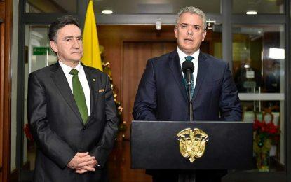 Presidente Duque presentó a la Corte Suprema de Justica la terna para Fiscal General de la Nación