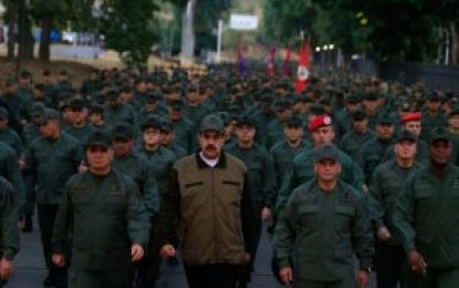 Maduro declara en «alerta» a Fuerza Armada ante supuesto ataque de Colombia y EE.UU. en frontera